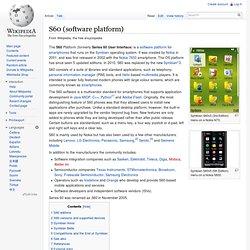 S60 (software platform)