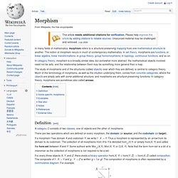 Morphism