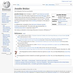 Jennifer Bricker - Wikipedia, the free encyclopedia