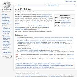 Jennifer Bricker - Wikipedia, the free encyclopedia