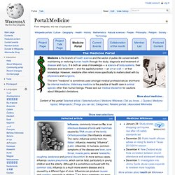 Portal:Medicine