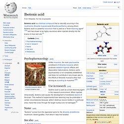 Ibotenic acid