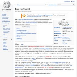 Elgg (software)