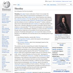 'Theodicy'