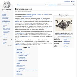 European dragon
