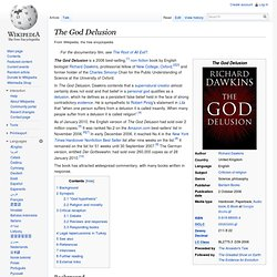 The God Delusion? Part 1
