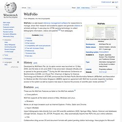 WizFolio