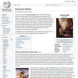 Lernaean Hydra