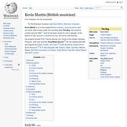 Kevin Martin (musician)