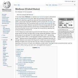 Medicare (United States)