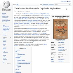 The Curious Incident of the Dog in the Night-time - Wikipedia, t