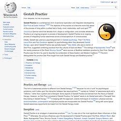 Gestalt Practice