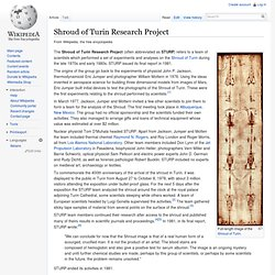 Shroud of Turin Research Project