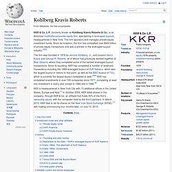Kohlberg Kravis Roberts
