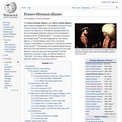 Franco-Ottoman alliance