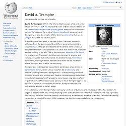 David A. Trampier