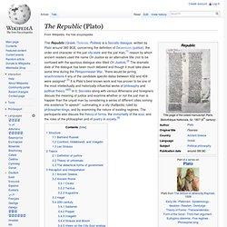 Plato's Republic (wiki)