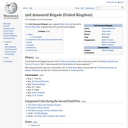 2nd Armoured Brigade (United Kingdom)