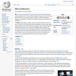 Max (Wikipedia)