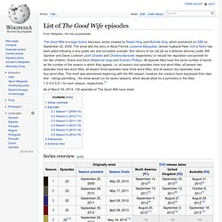 List of The Good Wife episodes