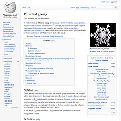 Dihedral group