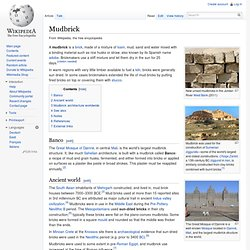 Mudbrick