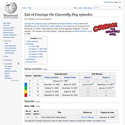 List of Courage the Cowardly Dog episodes