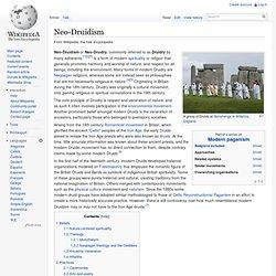 Neo-Druidism