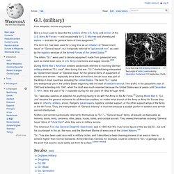 G.I. (military)