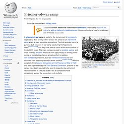 Prisoner-of-war camp