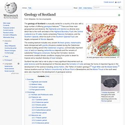 Geology of Scotland