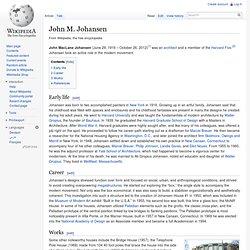 John M. Johansen