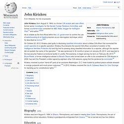 John Kiriakou