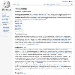 Rod Aldridge
