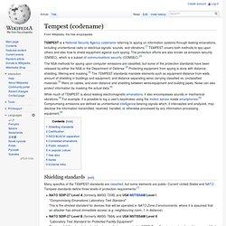 Tempest (codename)