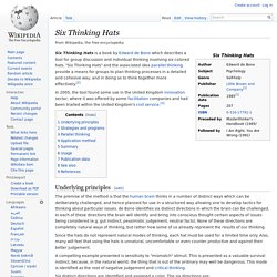 Six Thinking Hats - Wikipedia, the free encyclopedia