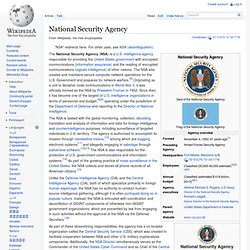 National Security Agency - Wiki