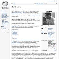 Ray Brassier