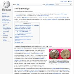 Scottish coinage