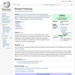 Rangpuri language