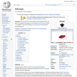 Inkscape web art pearltrees Open source graphics software