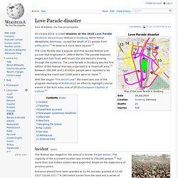 Love Parade disaster