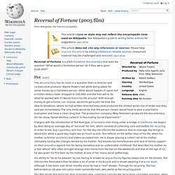 Reversal of Fortune (2005 film)