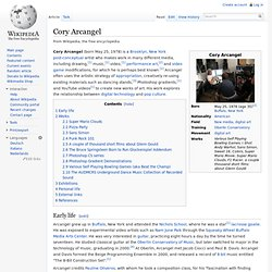 Cory Arcangel