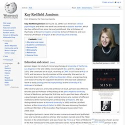 Kay Redfield Jamison