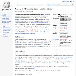 Union of Myanmar Economic Holdings