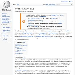 Fiona Margaret Hall