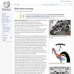 Hub-center steering