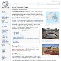 Great Artesian Basin