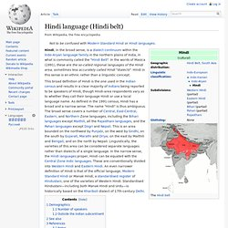 Hindi language (generic)